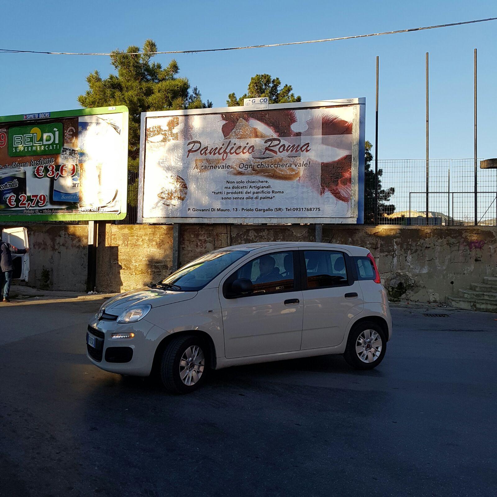 6x3 Monofacciale Priolo Gargallo Piazza Di Mauro Sx / Via Pindemonte